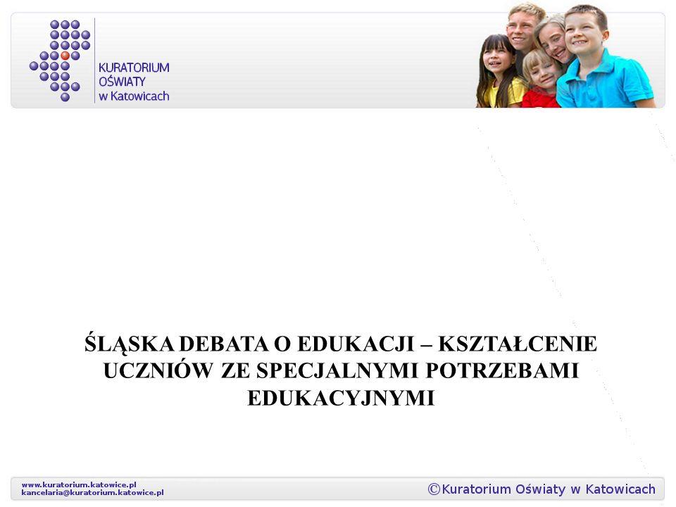 Śląska Debata o Edukacji – kształcenie uczniów ze specjalnymi potrzebami edukacyjnymi
