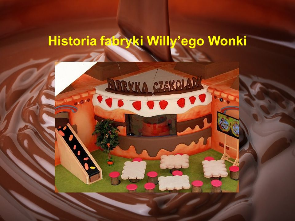 Historia fabryki Willy'ego Wonki