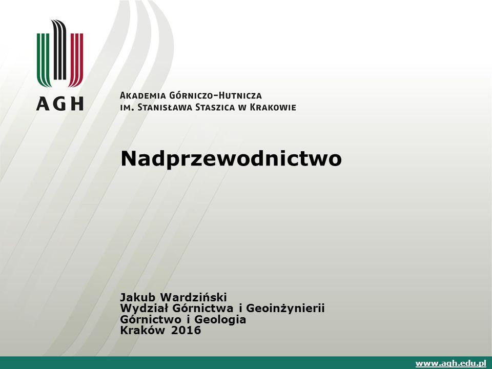 Nadprzewodnictwo Jakub Wardziński
