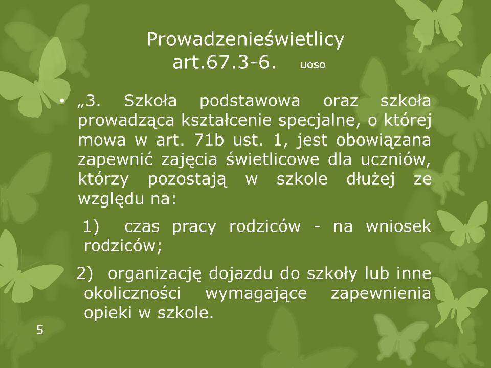 Prowadzenieświetlicy art.67.3-6. uoso