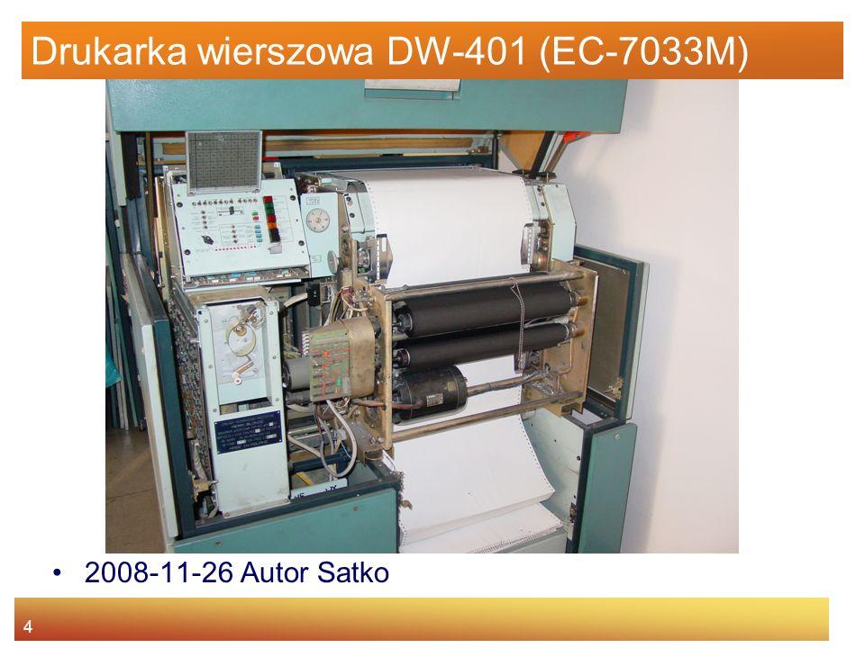 Drukarka wierszowa DW-401 (EC-7033M)