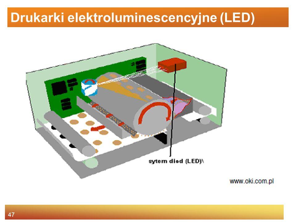 Drukarki elektroluminescencyjne (LED)