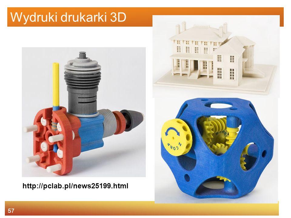 Wydruki drukarki 3D http://pclab.pl/news25199.html