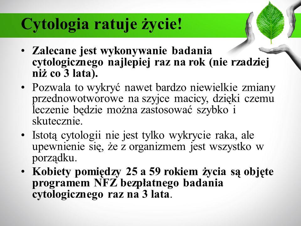 Cytologia ratuje życie!