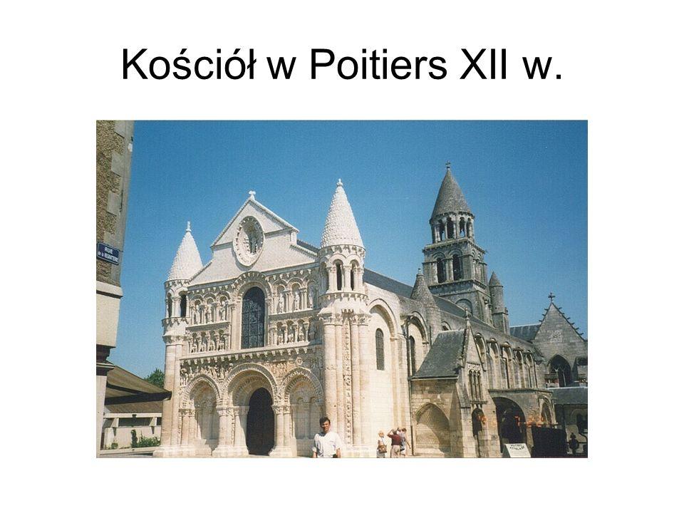 Kościół w Poitiers XII w.