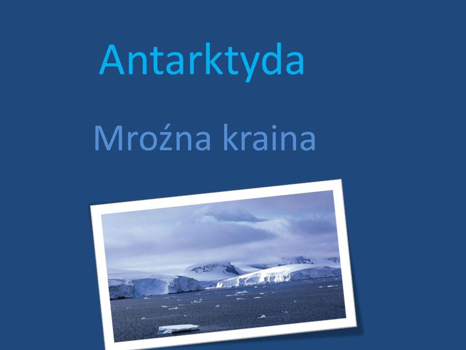 Antarktyda Mroźna kraina