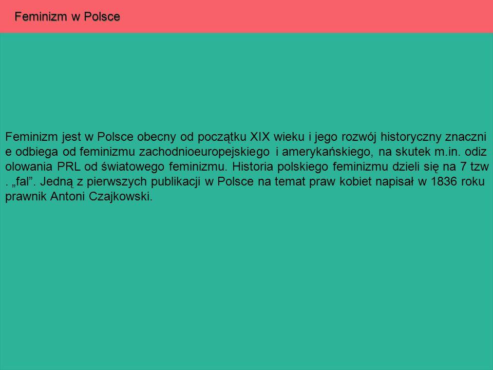 Feminizm w Polsce