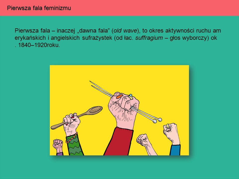 Pierwsza fala feminizmu