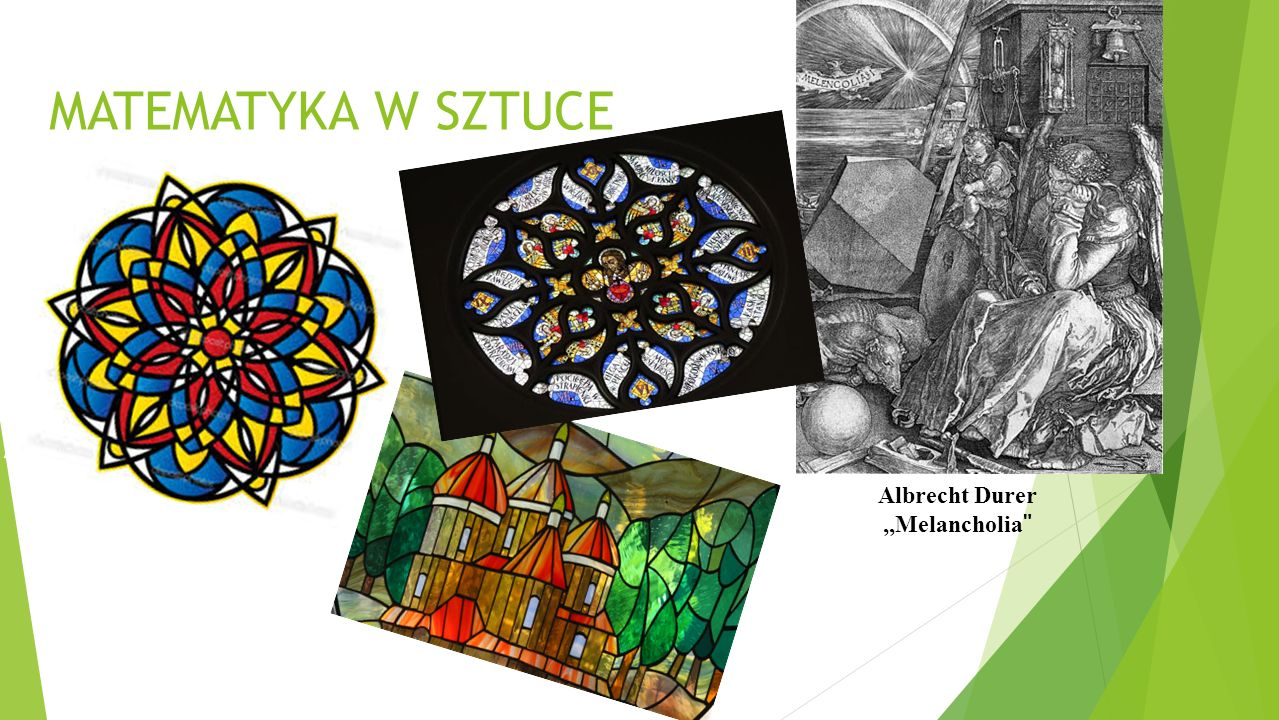 MATEMATYKA W SZTUCE Albrecht Durer ,,Melancholia