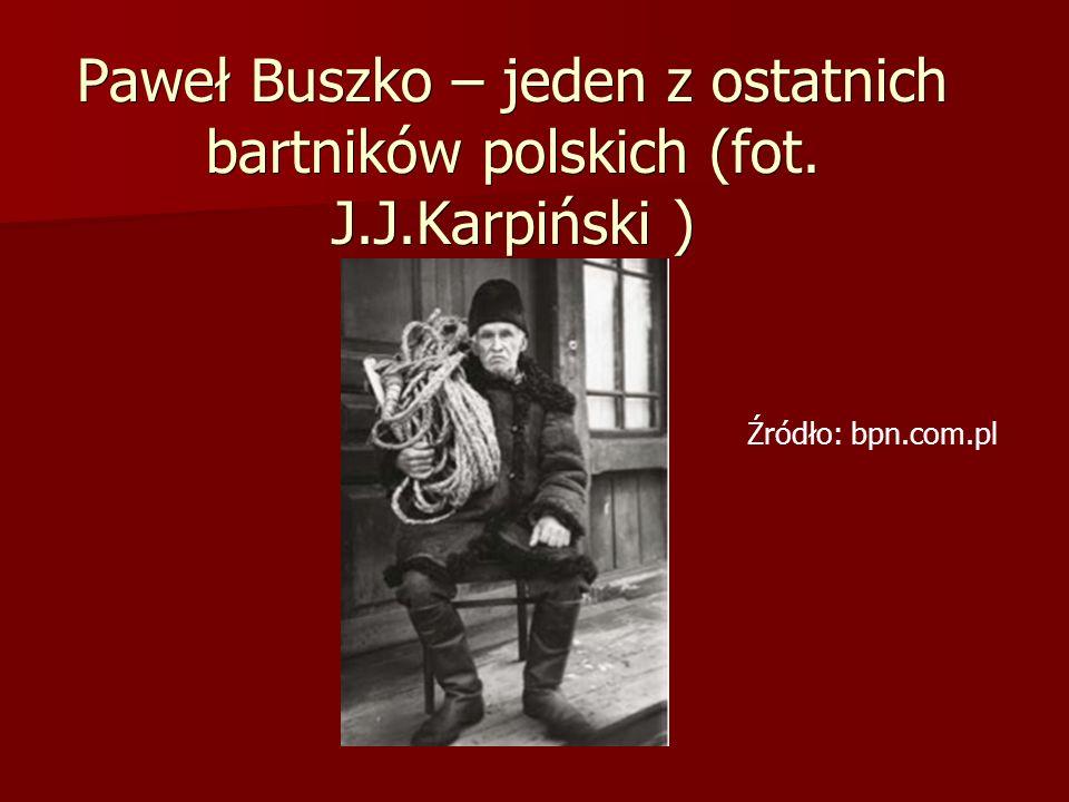 Paweł Buszko – jeden z ostatnich bartników polskich (fot. J. J