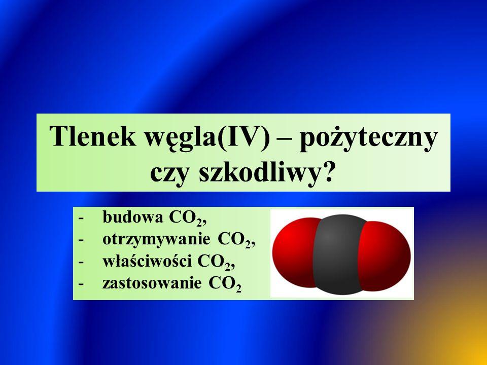 Tlenek węgla(IV) – pożyteczny czy szkodliwy