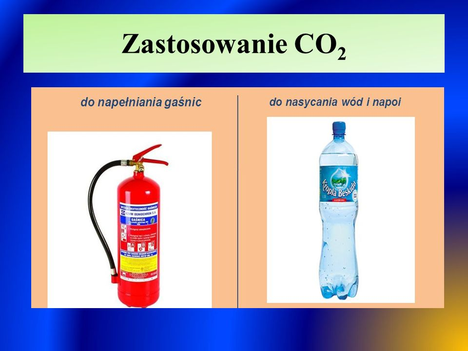 Zastosowanie CO2