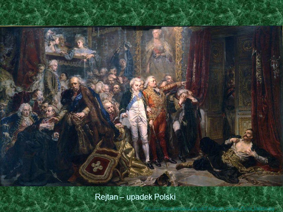 Rejtan – upadek Polski http://commons.wikimedia.org/wiki/File:Rejtan_Upadek_Polski_Matejko.jpg