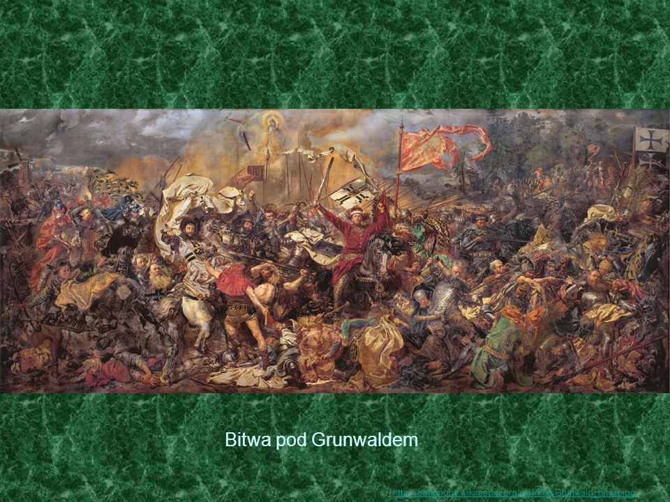 Bitwa pod Grunwaldem http://commons.wikimedia.org/wiki/File:Grunwald_bitwa.jpg