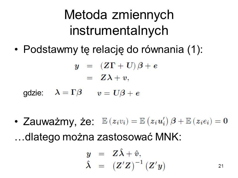 Metoda zmiennych instrumentalnych