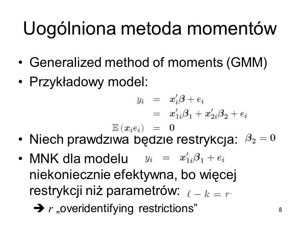 Uogólniona metoda momentów
