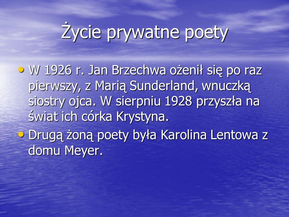 Życie prywatne poety