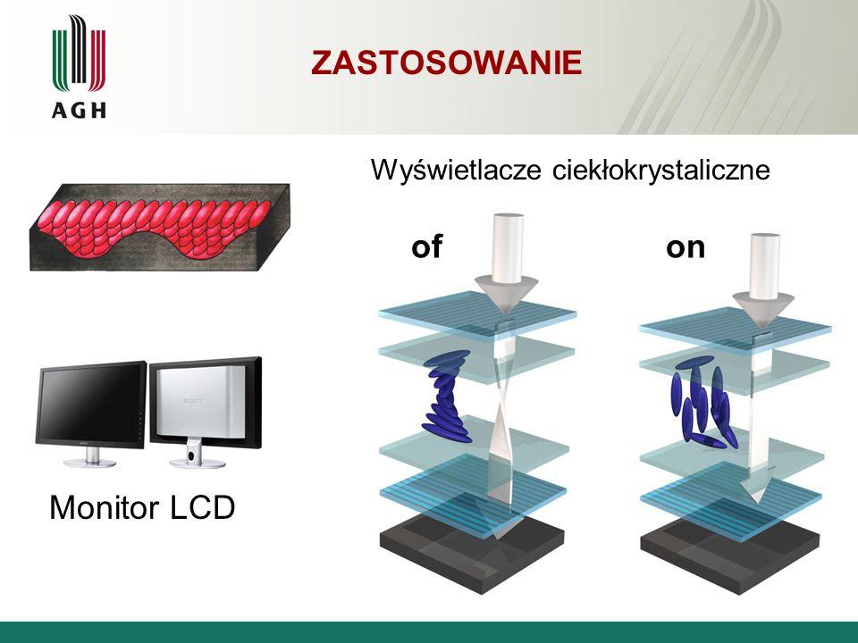Zastosowanie Wyświetlacze ciekłokrystaliczne of on Monitor LCD