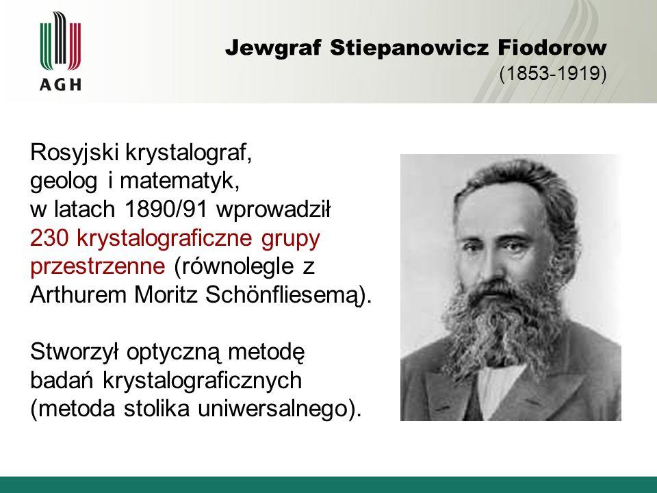 Jewgraf Stiepanowicz Fiodorow (1853-1919)
