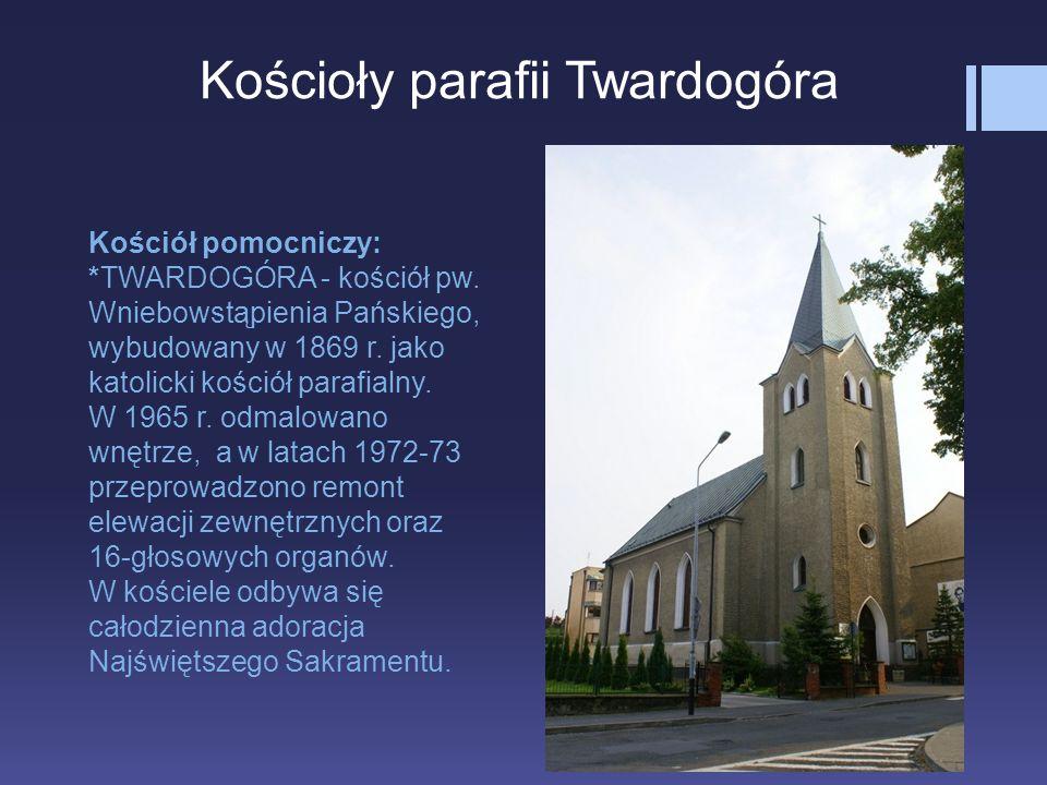 Kościoły parafii Twardogóra