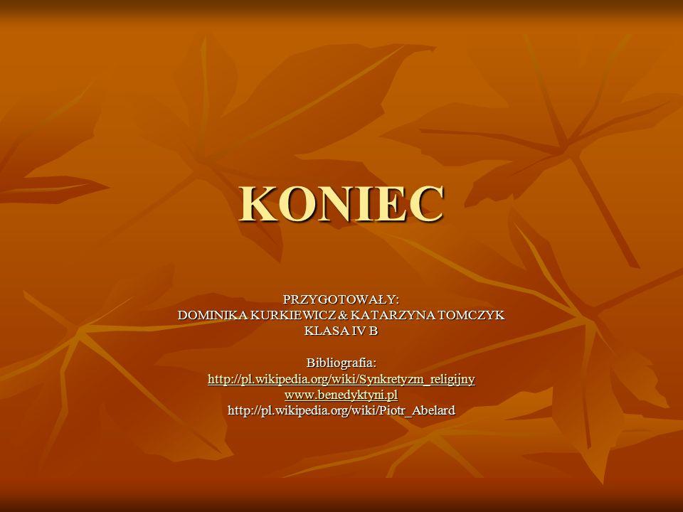 DOMINIKA KURKIEWICZ & KATARZYNA TOMCZYK