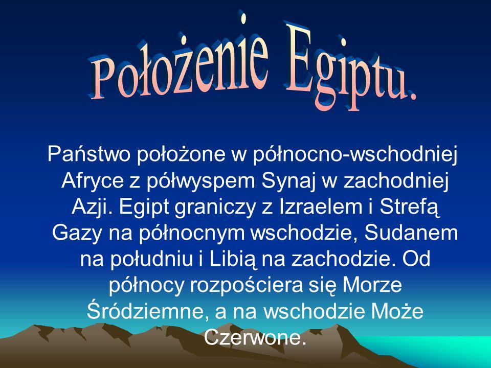 Położenie Egiptu.
