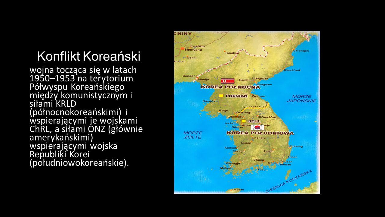 Konflikt Koreański