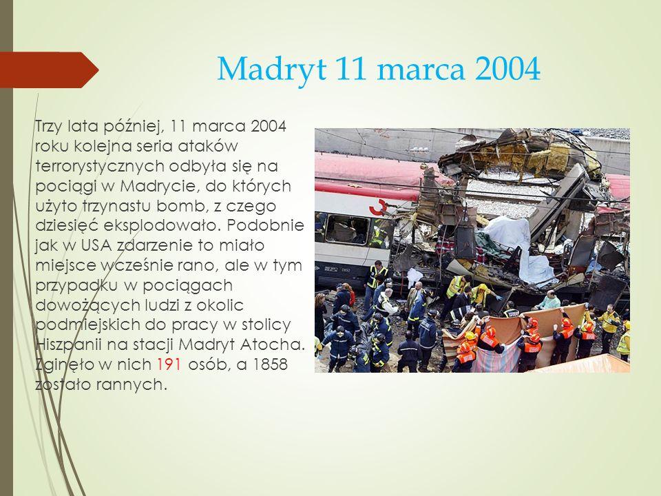 Madryt 11 marca 2004