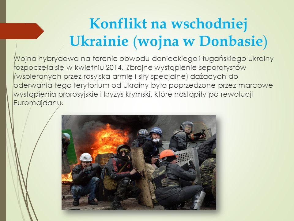 Konflikt na wschodniej Ukrainie (wojna w Donbasie)