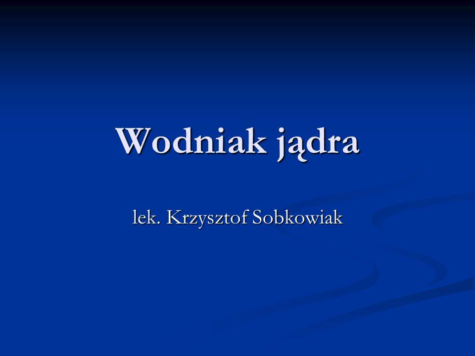 lek. Krzysztof Sobkowiak