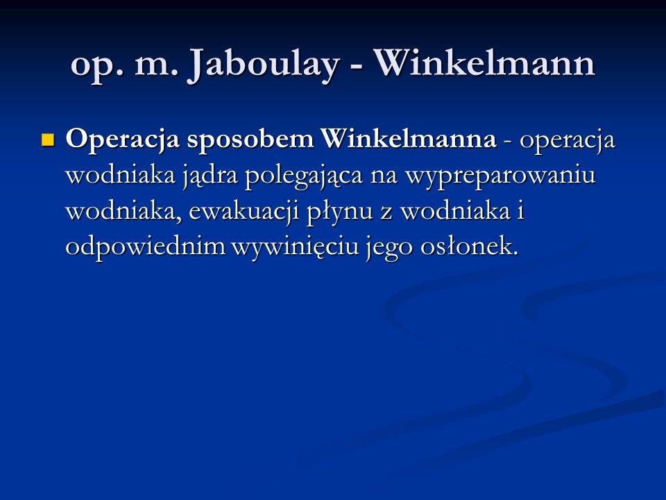 op. m. Jaboulay - Winkelmann