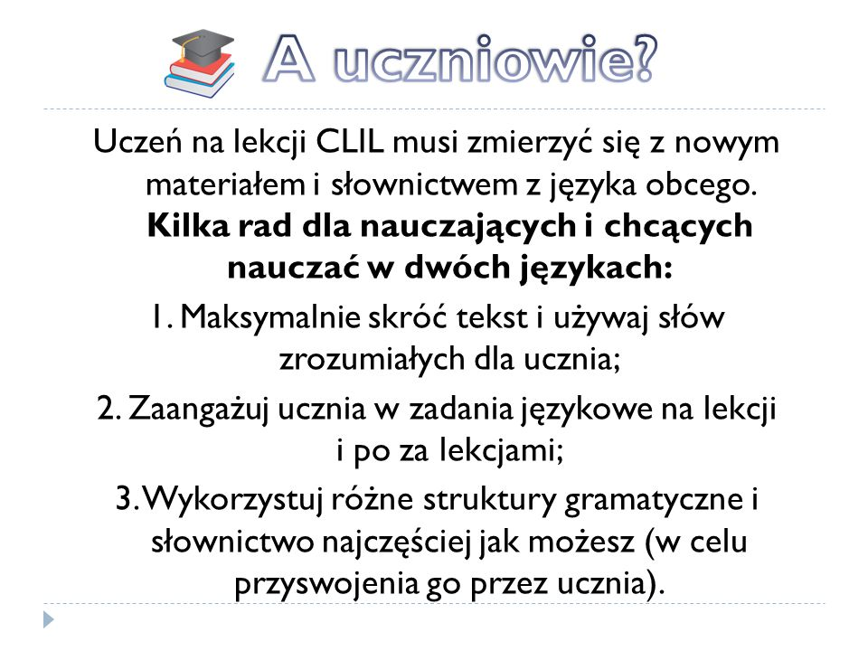A uczniowie