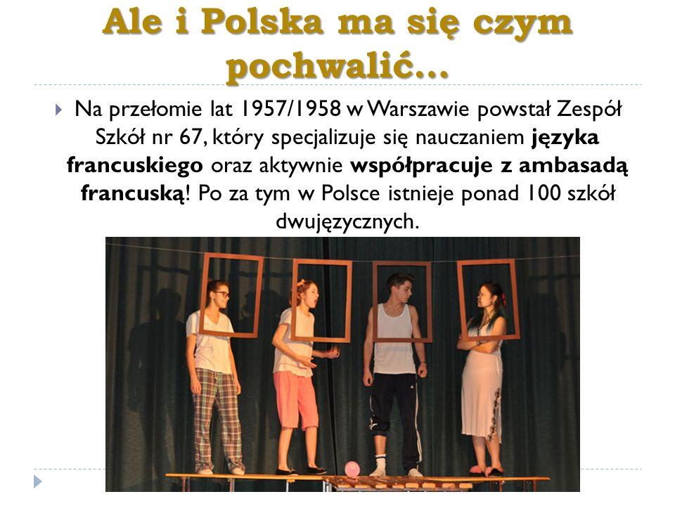 Ale i Polska ma się czym pochwalić…