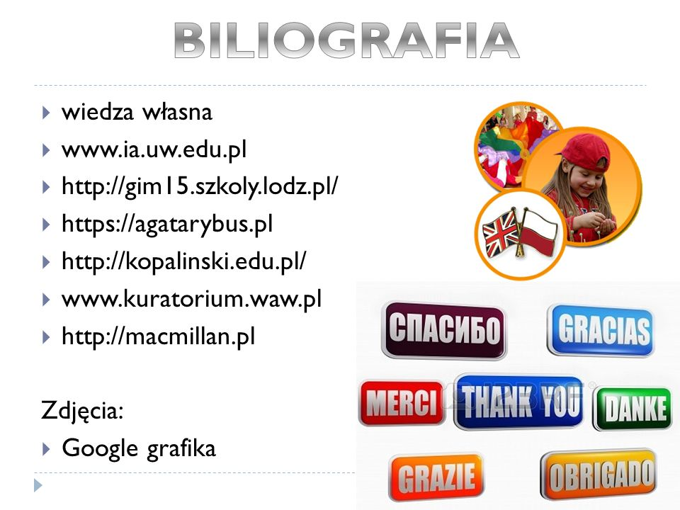 BILIOGRAFIA wiedza własna www.ia.uw.edu.pl