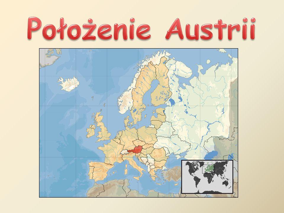 Położenie Austrii