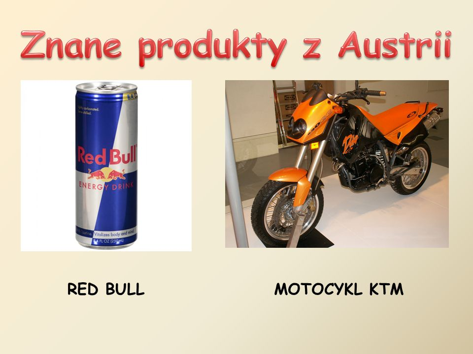 Znane produkty z Austrii