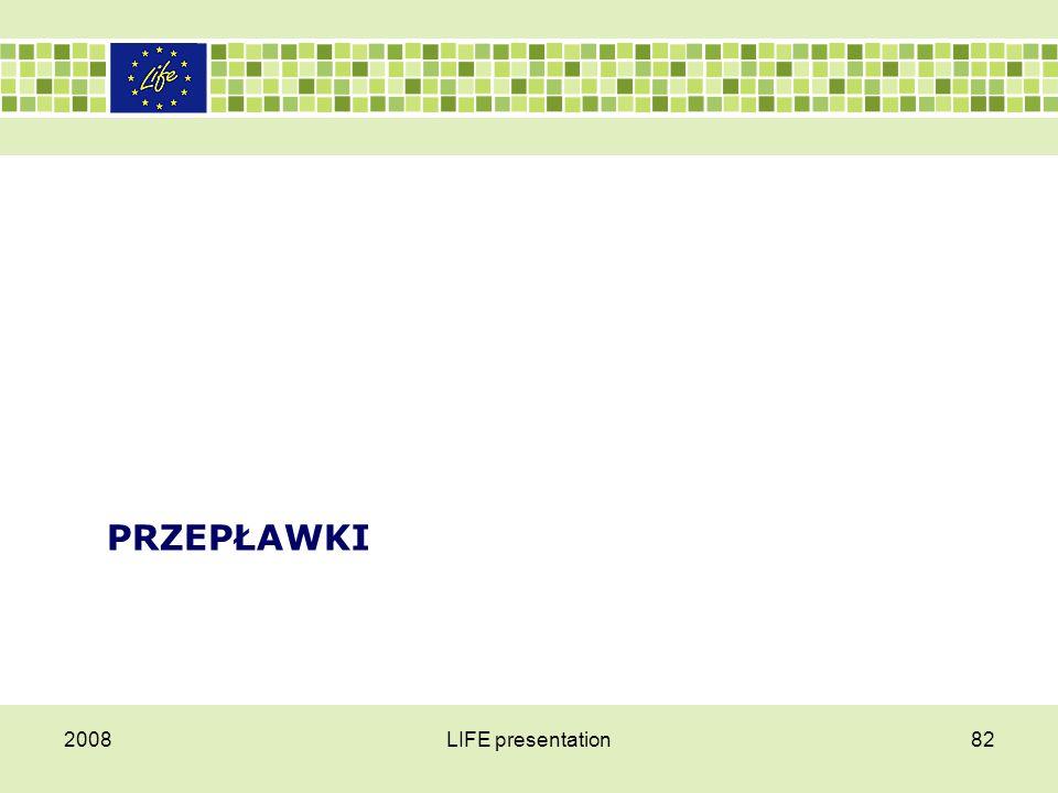 Przepławki 2008 LIFE presentation