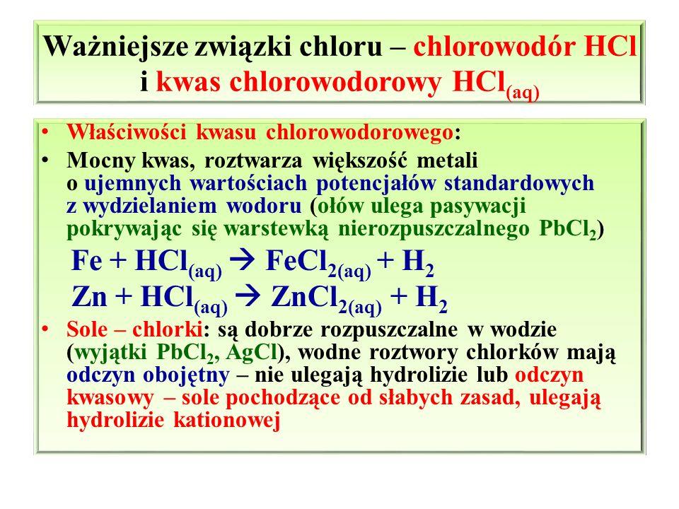 Zn + HCl(aq)  ZnCl2(aq) + H2
