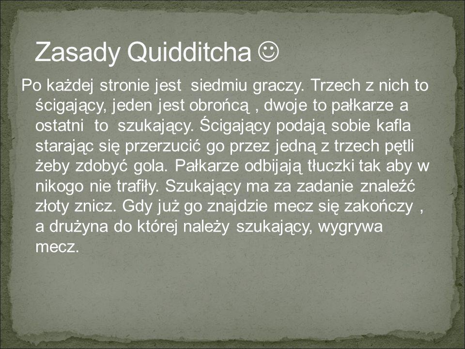 Zasady Quidditcha 