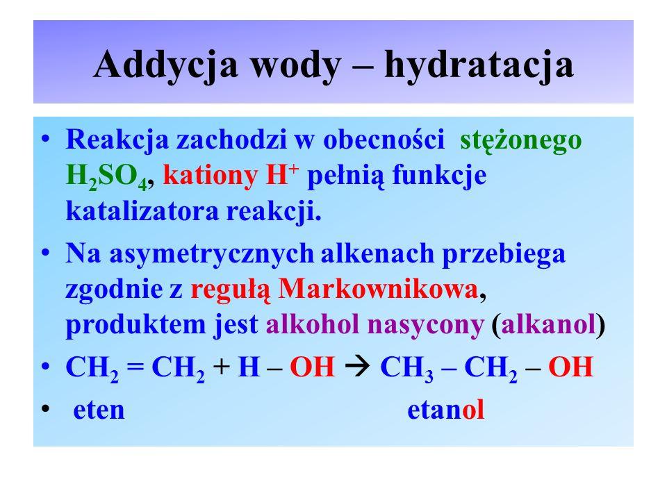Addycja wody – hydratacja