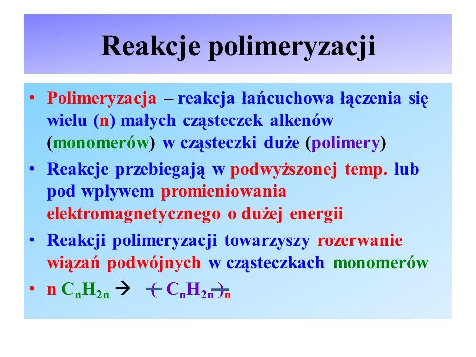 Reakcje polimeryzacji