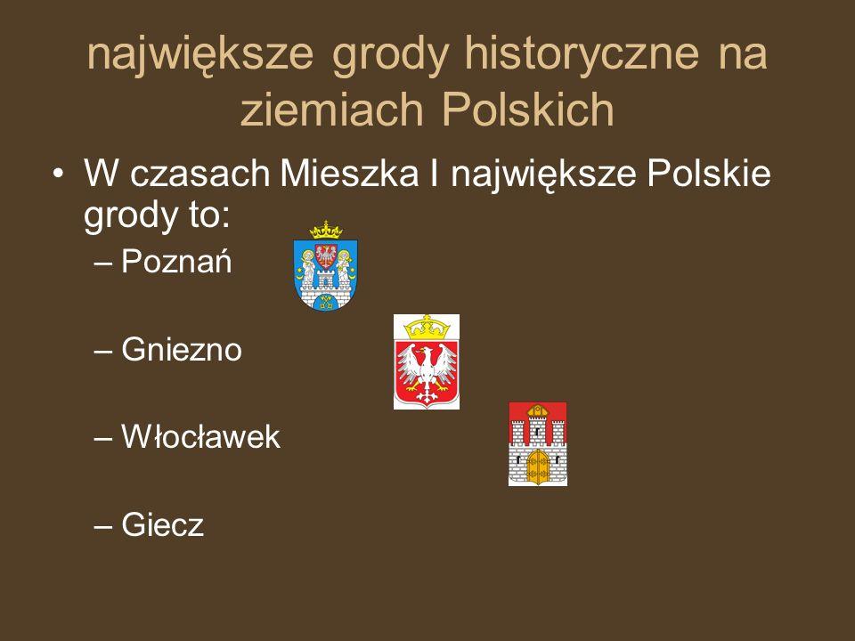 największe grody historyczne na ziemiach Polskich