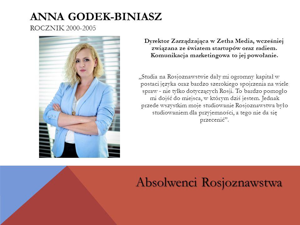Anna godek-biniasz rocznik 2000-2005