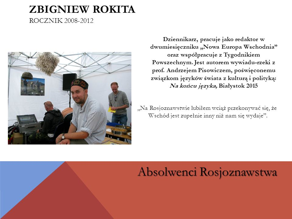Zbigniew Rokita rocznik 2008-2012