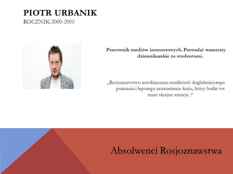 Piotr Urbanik rocznik 2000-2005