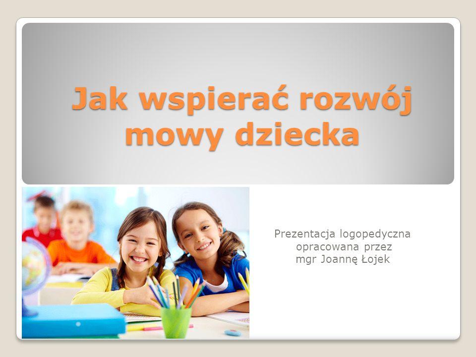 Jak wspierać rozwój mowy dziecka