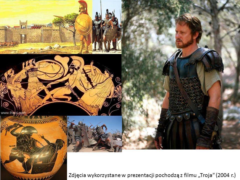 """Zdjęcia wykorzystane w prezentacji pochodzą z filmu """"Troja (2004 r.)"""