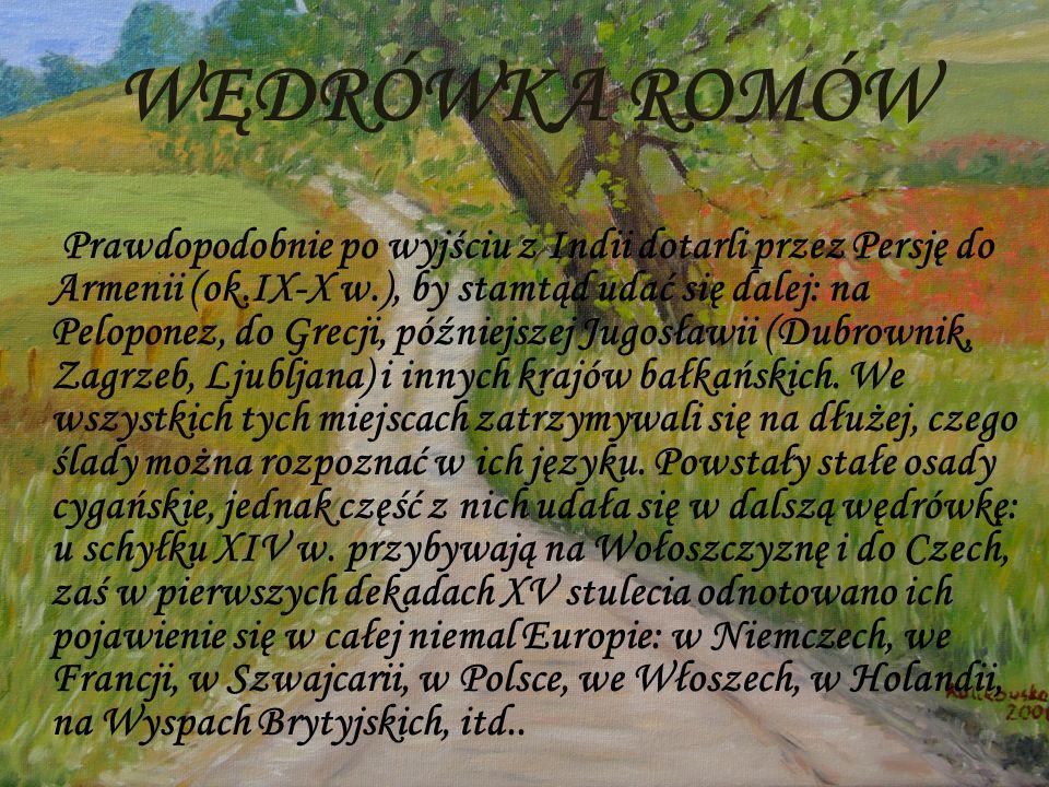 WĘDRÓWKA ROMÓW