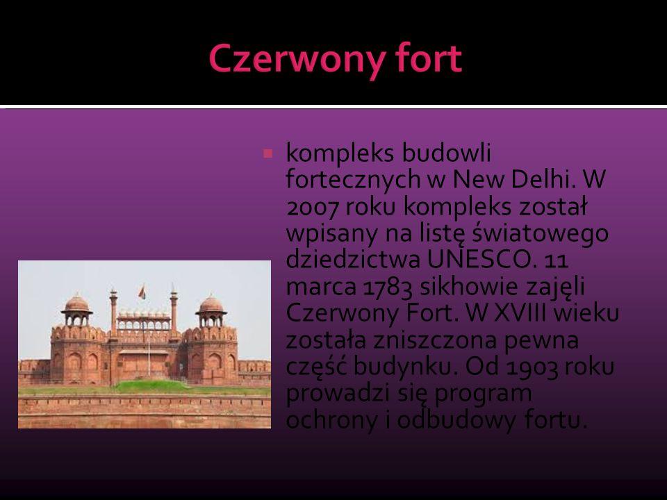 kompleks budowli fortecznych w New Delhi