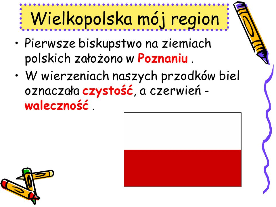 Wielkopolska mój region